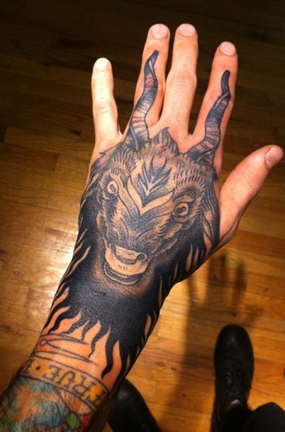 capricorn-hand-tattoos