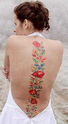 spine-women-tattoos