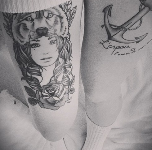 wolf-tattoo-designs-leg-girl