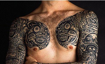 Chest-Tattoos-spolynesian