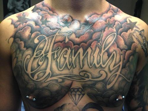 Heaven Cloud Tattoo Designs