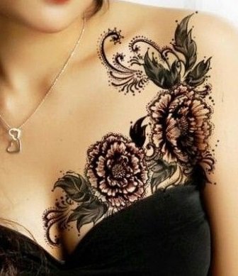 chest-tattoos-lace-women
