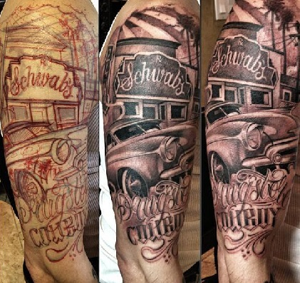 Chicano Style Tattoos Unauthorized INK