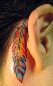 ear-tattoo-feather-behind