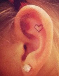 ear-tattoo-inside-heart