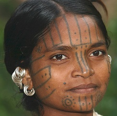 face-tattoo-cultural