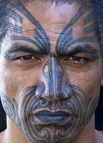 face-tattoo-maori