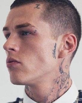 face-tattoo-script