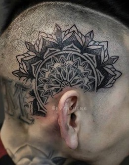 head-tattoo-henna