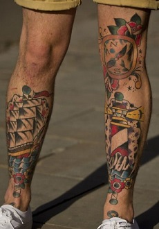leg-tattoos-men-traditional