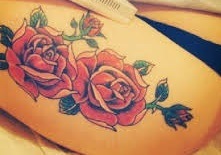 leg-tattoos-rose-girls