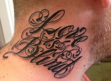 neck-tattoos-lettering