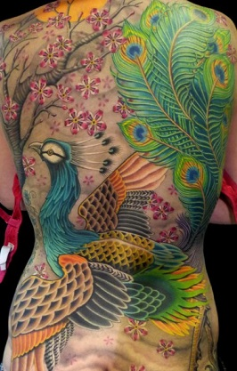peacock-feather-tattoo-back-japan