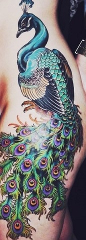 peacock-feather-tattoo-japanese