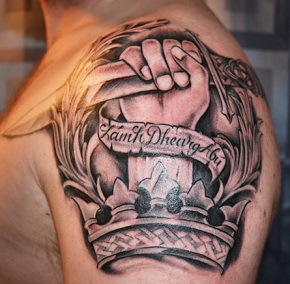 Shoulder tattoos tattoo insider for On top of shoulder tattoo