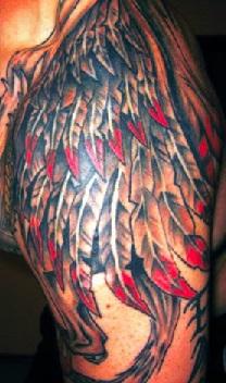 Wing Tattoo Shoulder Blades Shoulder Tattoo...