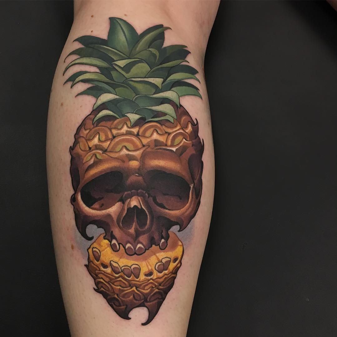 Pineapple Tattoos Tattoo Insider
