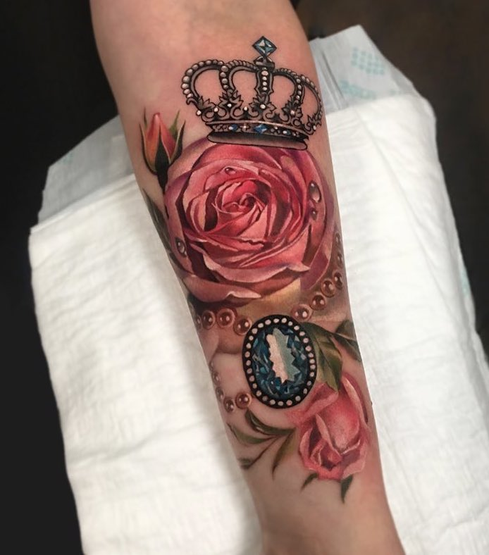 Antonina Troshina Rose+Crown