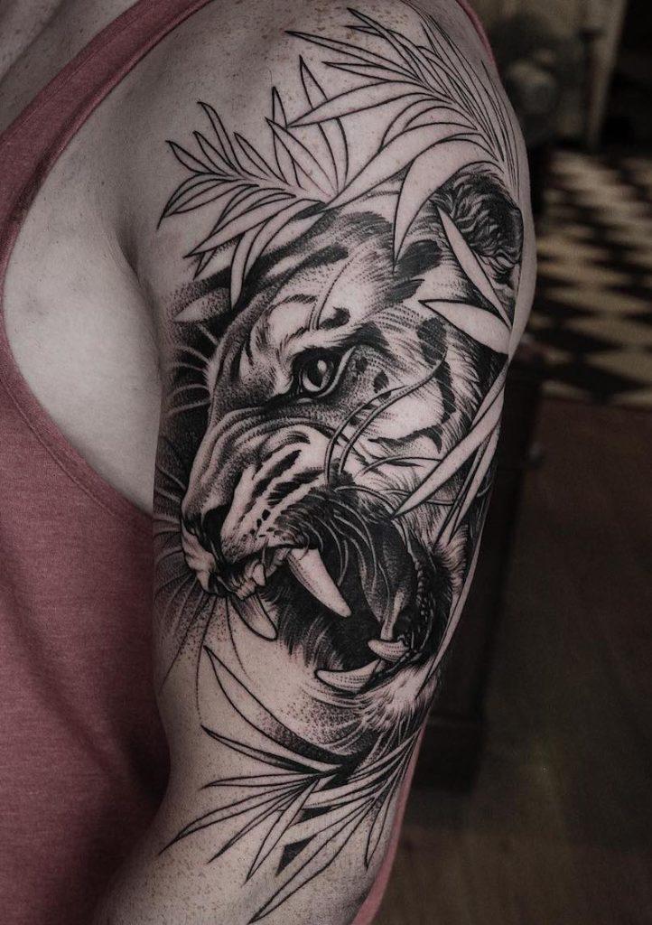 Daniel Baczewski Tiger Tattoo