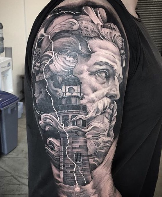 Poseidon Tattoos Tattoo Insider