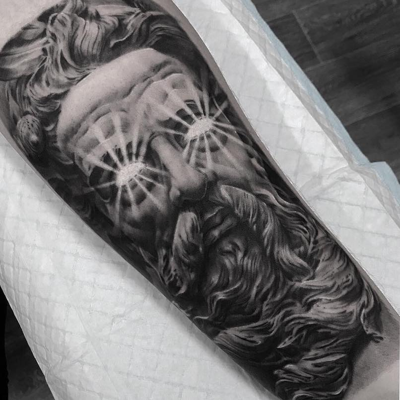 Tattoo Designs Qld: Poseidon Tattoos