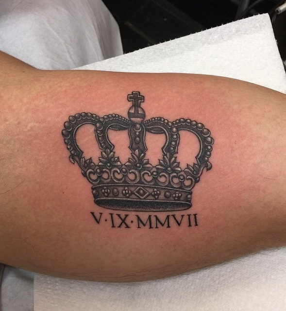 Rich Cahill Crown Tattoo