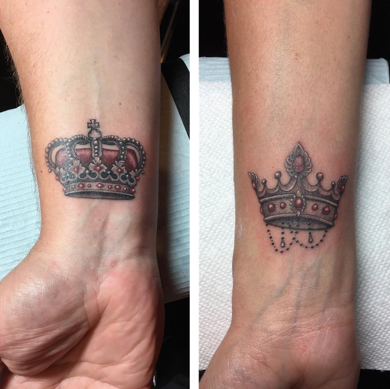Rich Cahill Crown Tattoos