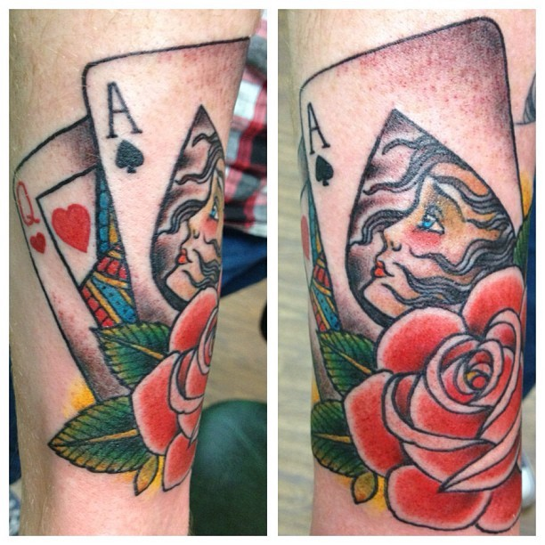 Ace Tattoo by Steven Wrigley
