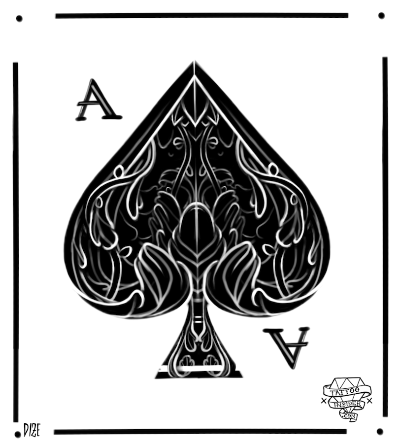 Ace Of Spades Card Designs