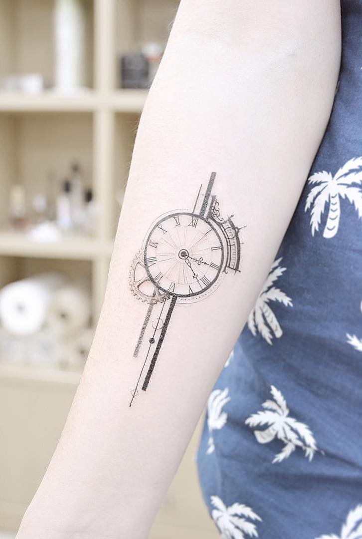 Clock Tattoo 2 by Banul Seoul
