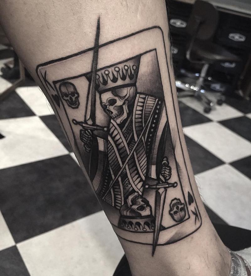 King Tattoo 3 by Gara Tattooer