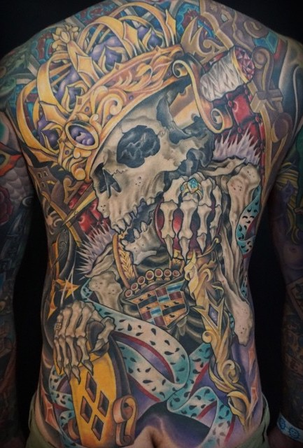 King Tattoo by Sierra Colt