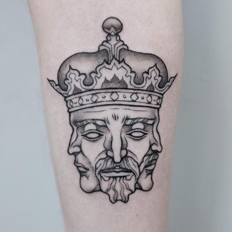 King Tattoo by Uls Metzger