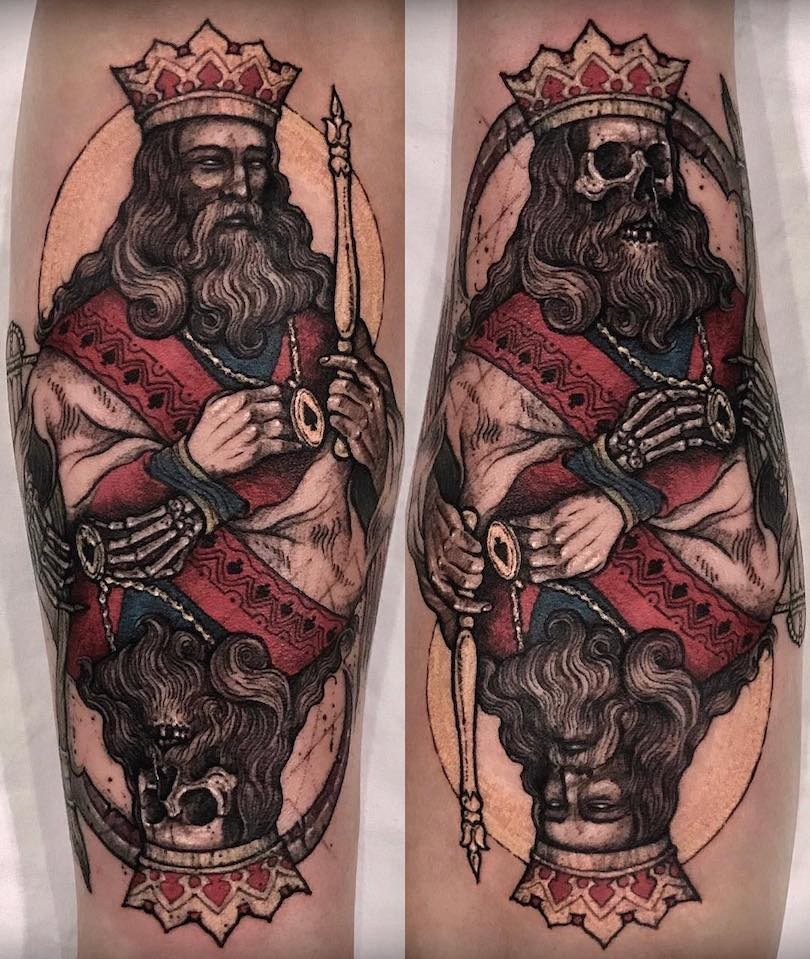 King Tattoo by Varo Tattooer