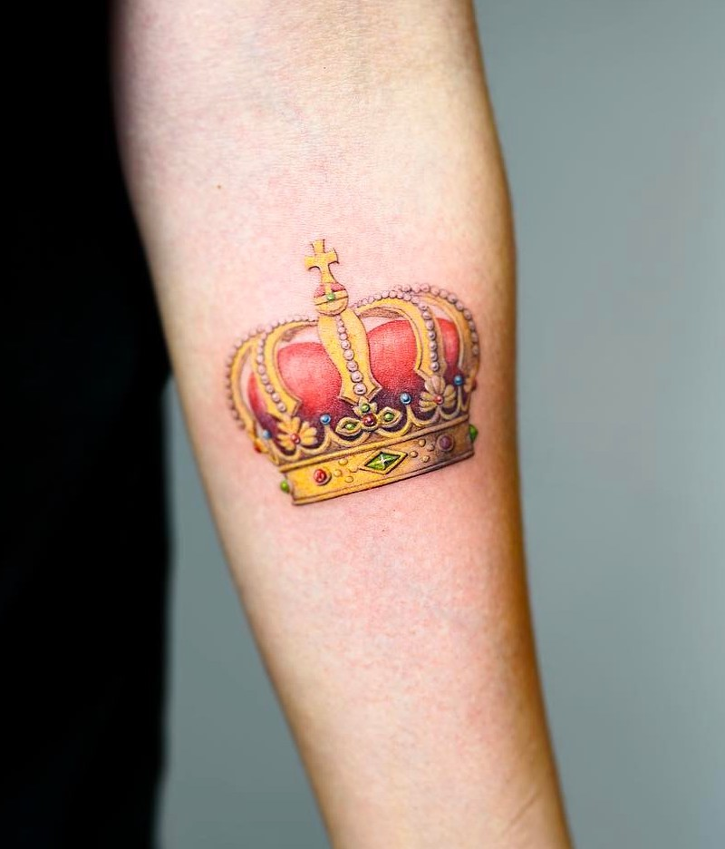 Nando Tattoo Crown Tattoo
