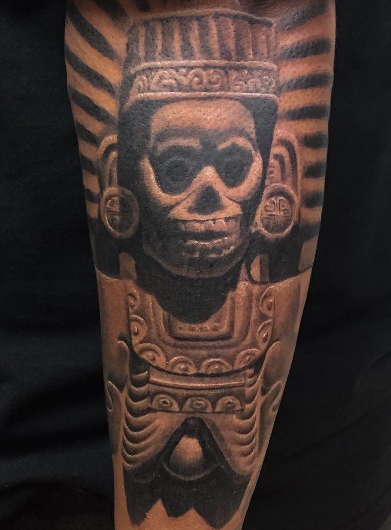 Aztec Tattoo Chuy Espinoza