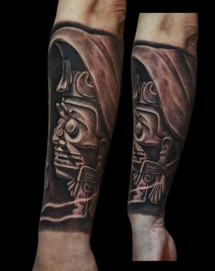 Aztec Tattoo Goethe Collective