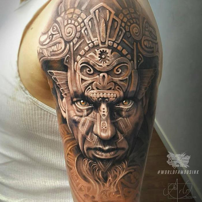 50 Of The Best Aztec Tattoos - Tattoo Insider