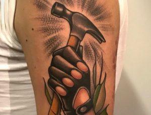 Hammer Tattoo
