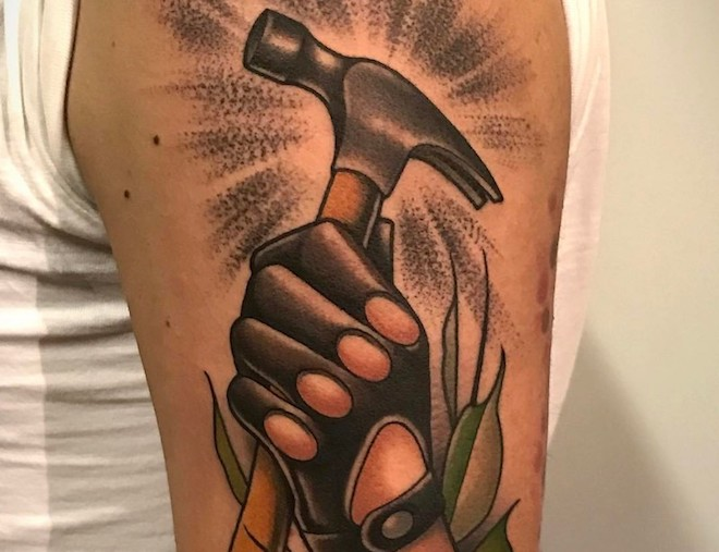 Hammer Tattoo 2 by Fulvio Vaccarone
