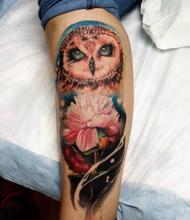 Owl Tattoo by Danyel labiut