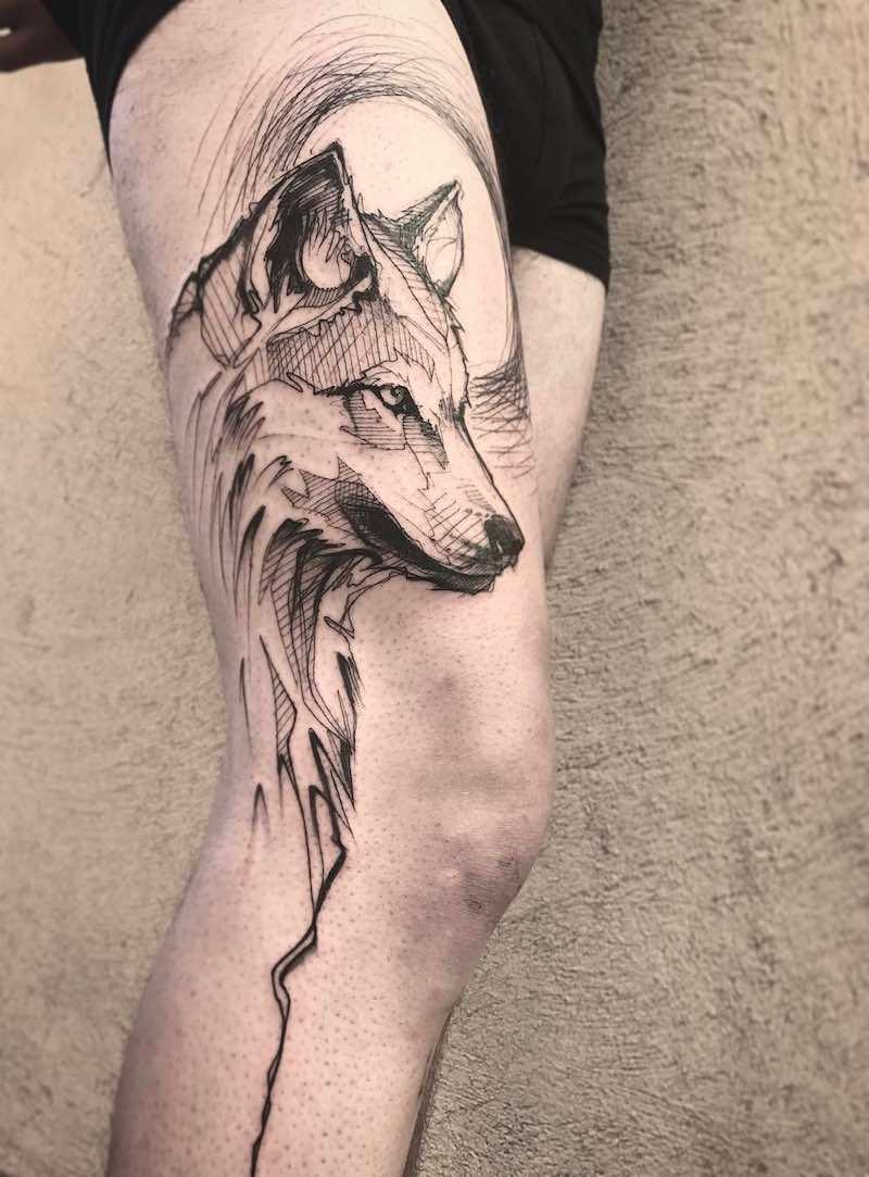 Wolf Tattoo L'oiseau