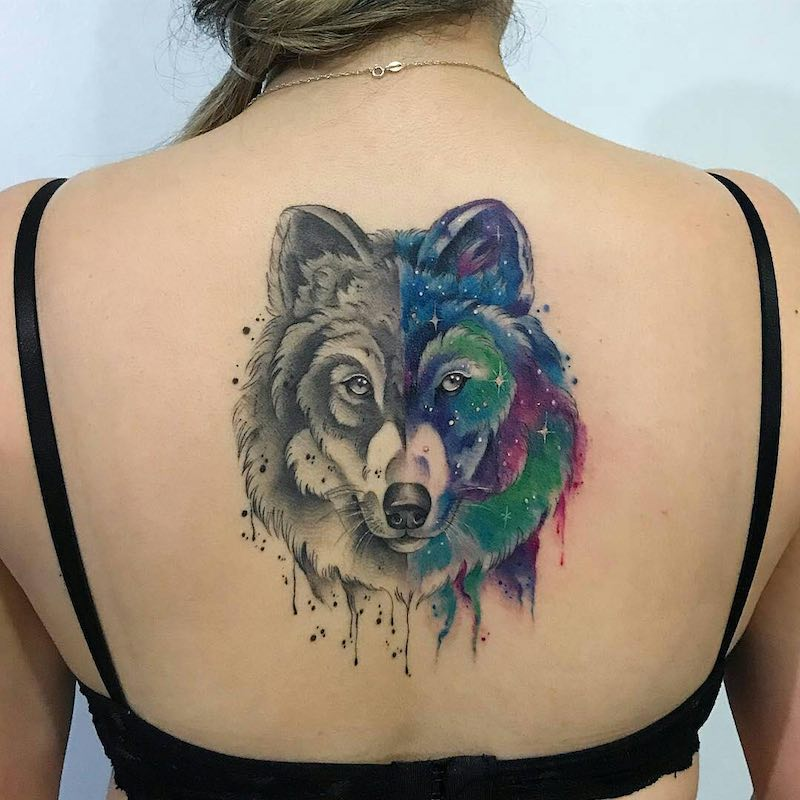 Wolf Tattoo by Samantha Sam