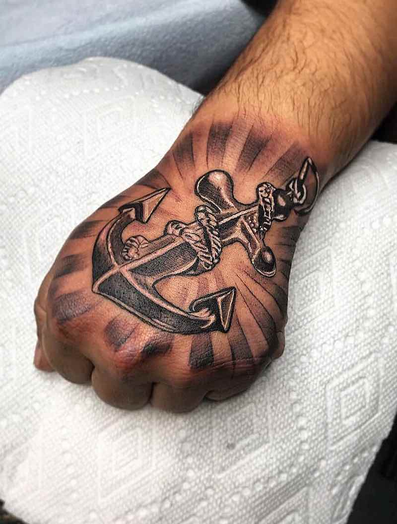 Anchor Tattoo by Jorge Jamaica