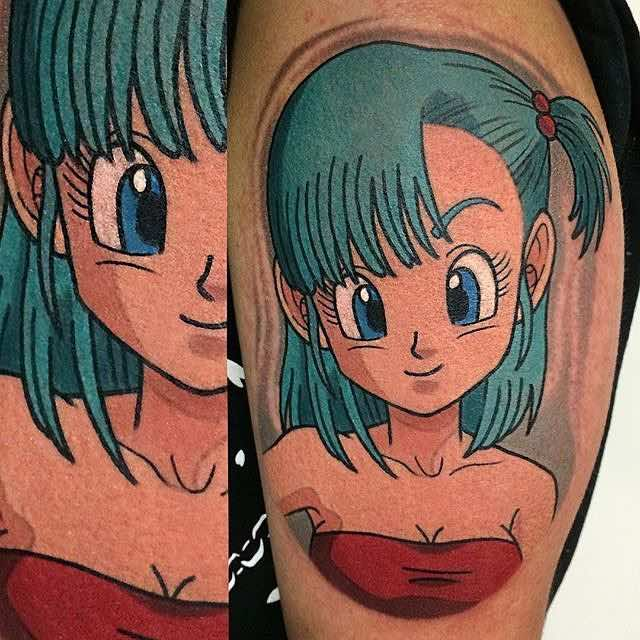 Bulma Tattoo by Adam Perjatel