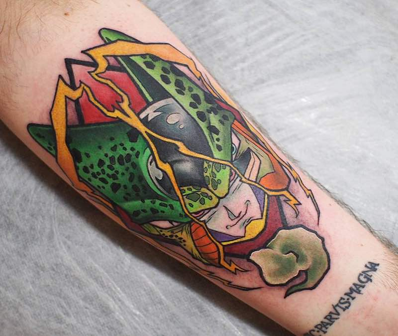 Cell Tattoo by Godfrey Atlantis