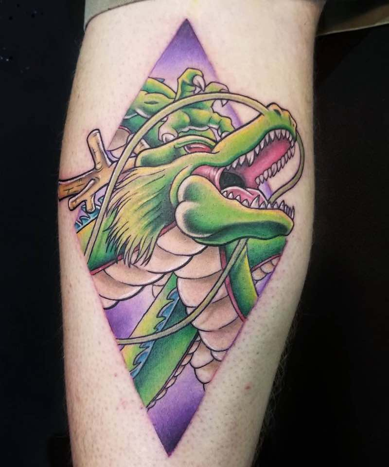 Dragon Ball Z Tattoo by Nicole Willingham-