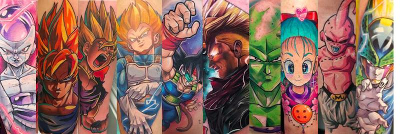 The Very Best Dragon Ball Z Tattoos Tattoo Insider