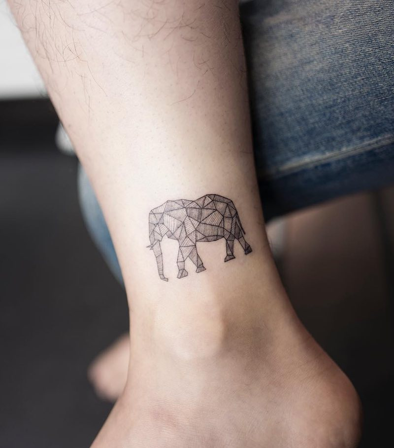 Elephant Tattoo by Hongdam