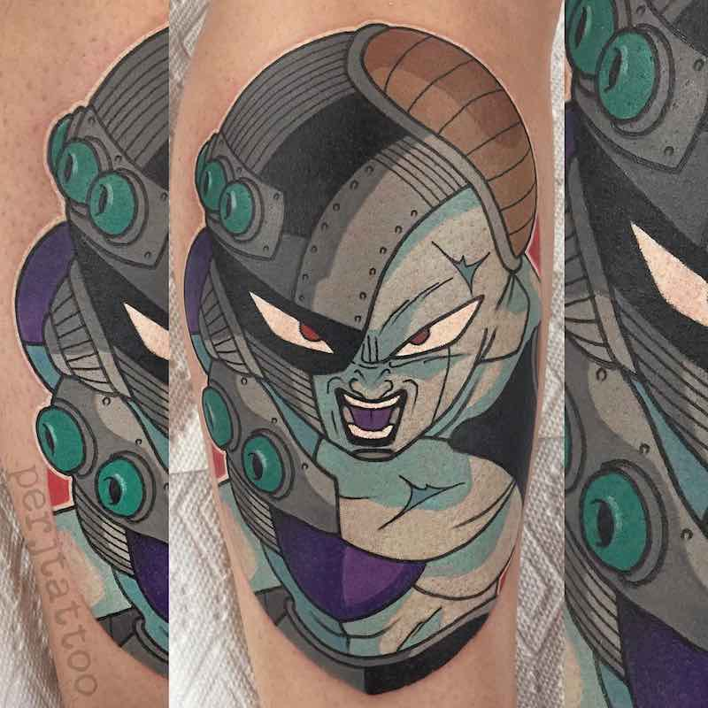 Frieza Tattoo by Adam Perjatel